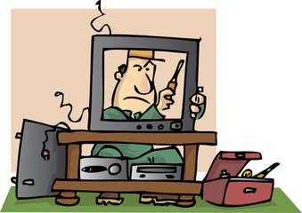 réparateur télévision