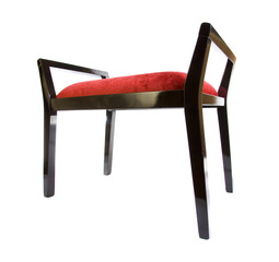 isolated chair furniture