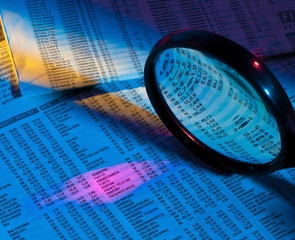 Gewinne und Verluste von Aktien Kursen unter der Lupe