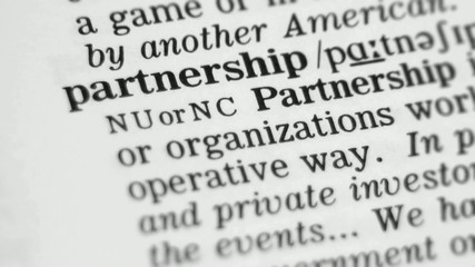 Dictionary Definition - Partnership