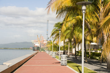 waterfront development program port of spain trinidad