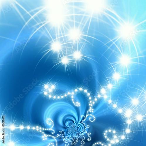 tarjeta luces navidad © Maruba