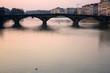 Fototapeta Wieczór - Sylwetka - Most