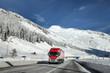 Fototapeta Pejzaż - Transport - Ciężarówka