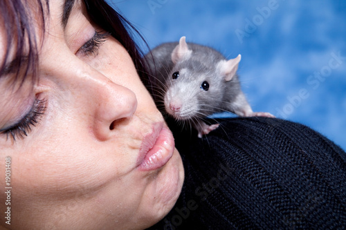 Bisou petit rat.