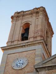torre de la iglesia de nuestra señora del consuelo en altea