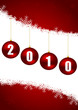 new year 2010 illustration
