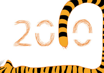 tiger 2010 new year