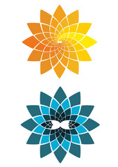 flower vector shapes