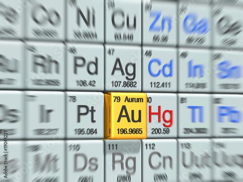 aurum @periodic table