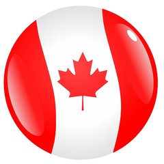 button flag of Canada