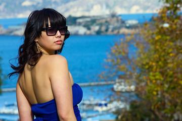 Pretty Asian Woman