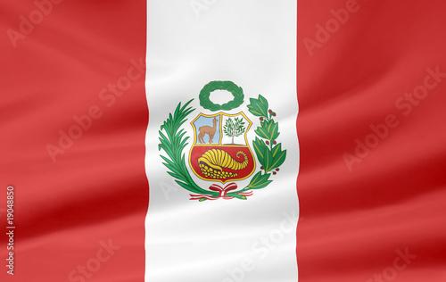Peruanische Flagge