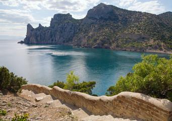"""Fanciful bay of """"Novyj Svit"""" reserve"""