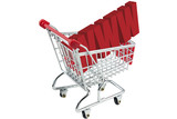 internet shopping trolley