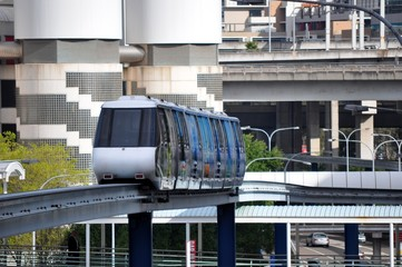 Monorail in the city