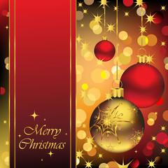 Shining Christmas Background