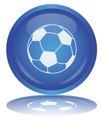 Soccer Button - Bouton Football (World Cup - Ball Sport Vector)