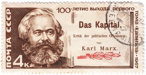 Karl Marx, the German philosopher creator communism