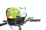 Transport vert - Faire les courses à vélo poster