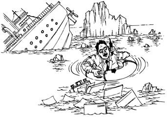 Shipwreck in sea of bureaucracy