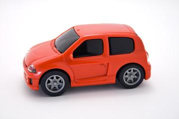 véhicule rouge