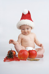 Infant and Christmas.