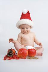 Infant and Christmas.