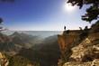 Leinwanddruck Bild - In Grand Canyon