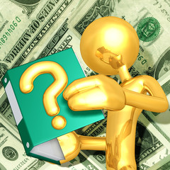 Gold Guy With Financial Question