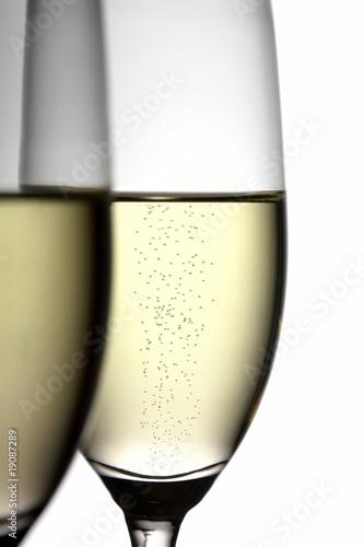 Champagner im Glas