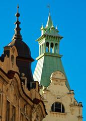 Historische Häuser in Prag