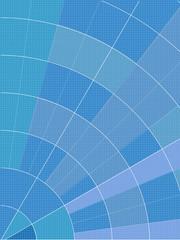 abstract polar graph background