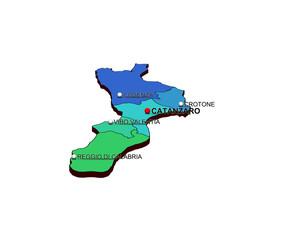 Regione Calabria: Province