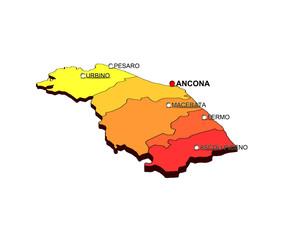 Regione Marche: Province