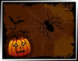 Illustration of Halloween  and spider