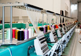 Textile: Industrial Embroidery Machine poster