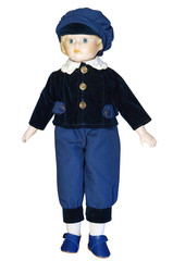 Boy Doll with clipping path