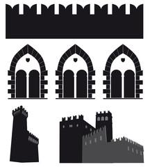 Castelli silhouette