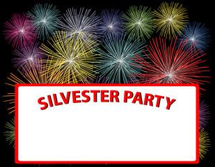 silvester party plakat