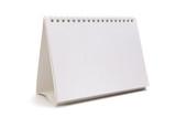 Calendario desktop Bianco