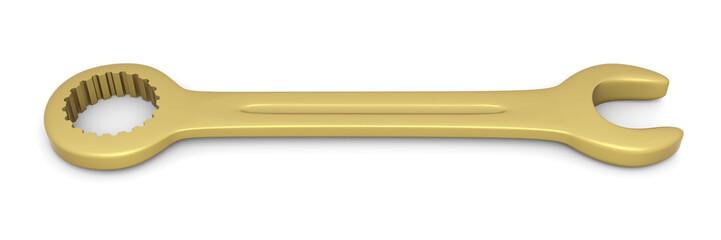 Goldener Schraubenschlüssel