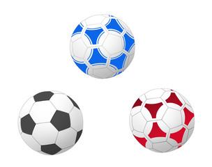 サッカーボール3種類