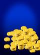 Gold pound coins
