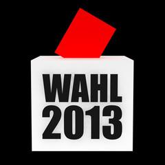 Wahl 2013 3D Render