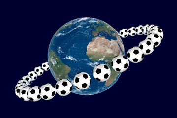 Soccer Planet Render