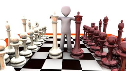 omino scacchiera