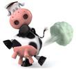 Vache danger pour l'environnement