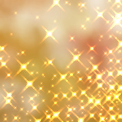 ゴールドの光の背景