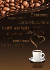 Kaffee Poster